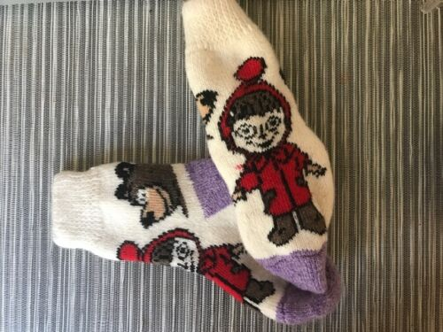 Masha And The Bear Socks For Kids 100/% Wool