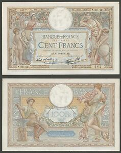 FRANCIA-100-Francs-6-10-1938-aUNC-Pick-86b