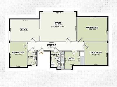 2650 vær. 5 lejlighed, m2 92, Konkylievej