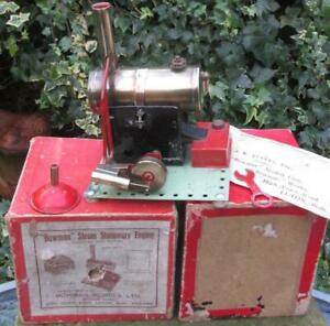 Beautiful, small but perfectly formed Bowman PW201 stationary steam engine