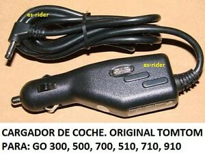 CARGADOR-TOMTOM-AUTO-GO-300-500-700-510-710-910-715-TOM-TOM-CHARGER-GPS