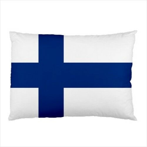 Finland Throw Flag Pillow Case Cover