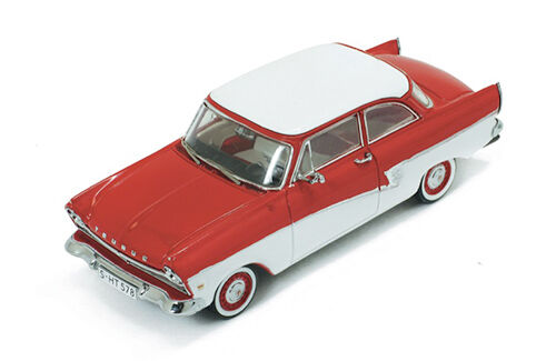 Ford Taunus 17m 1957 Red   White White White 1 43 Model PREMIUMX aed3cb