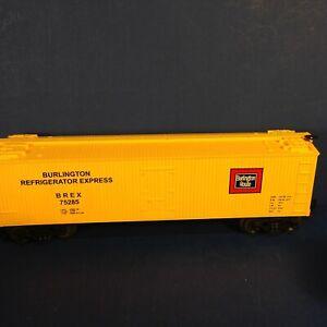 MTH-O-Gauge-Rail-King-40-039-WOODSIDED-REEFER-CAR-30-7806-No-box