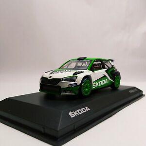 Norev Skoda Fabia Iii R5 Evo Show Car 2019 1 43 000099300ca Ebay