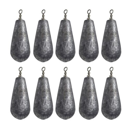 SINKER BOATING FISHING TACKLE PROFESSIONAL MADE PEAR BOMB SINKERS