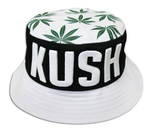 100/%Cotton summer out door Safari Hiking weed kush Bucket hat fisherman hat cap