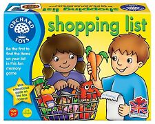 orchard toys games children shopping list game boy girl memory toy