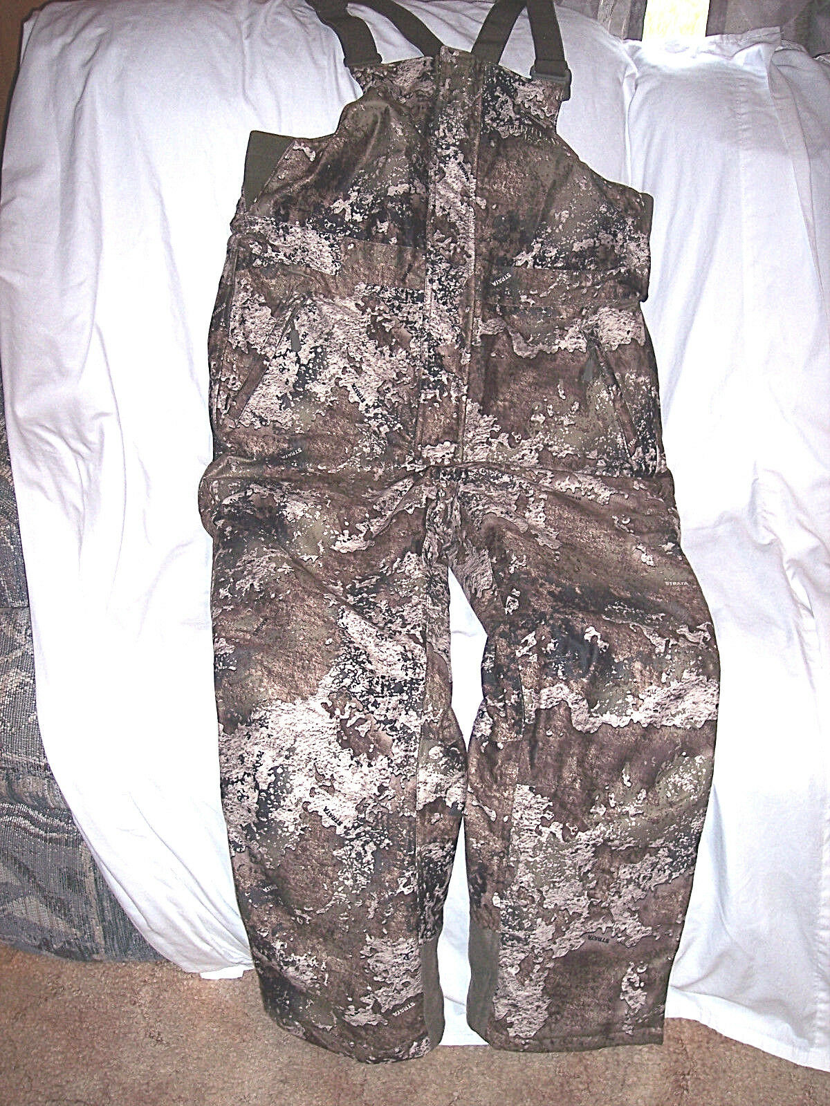 Boys XL Insulated Bib O lls  Strata Camo Bibs Waterproof Hunting Co lls XL  the newest brands outlet online
