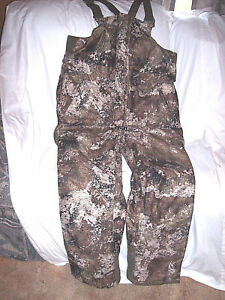 b7d031fb2f2b8 Image is loading Mens-Large-Insulated-Bib-Overalls-Strata-Camo-Bibs-