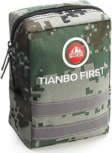 Survival Molle First Aid Kit Emergency Gear Military Trauma Bag 120 Pieces Kits