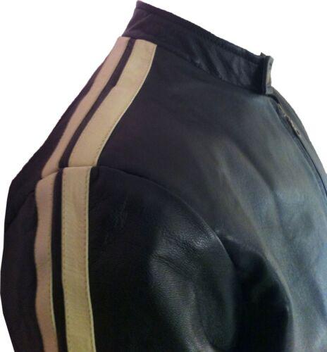 Unicorn u5 Mens Genuine 'size Xxl' Leather Jacket Casual rqrwxTOz