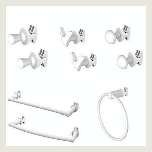 Extra-cintre-porte-serviettes-chauffant-radiateur-Bath-Robe-Crochet-Clip-Ring-Holder-Blanc