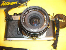 NIKON FM2-n SLR CAMERA BUNDLE WITH NIKON 28mm LENS