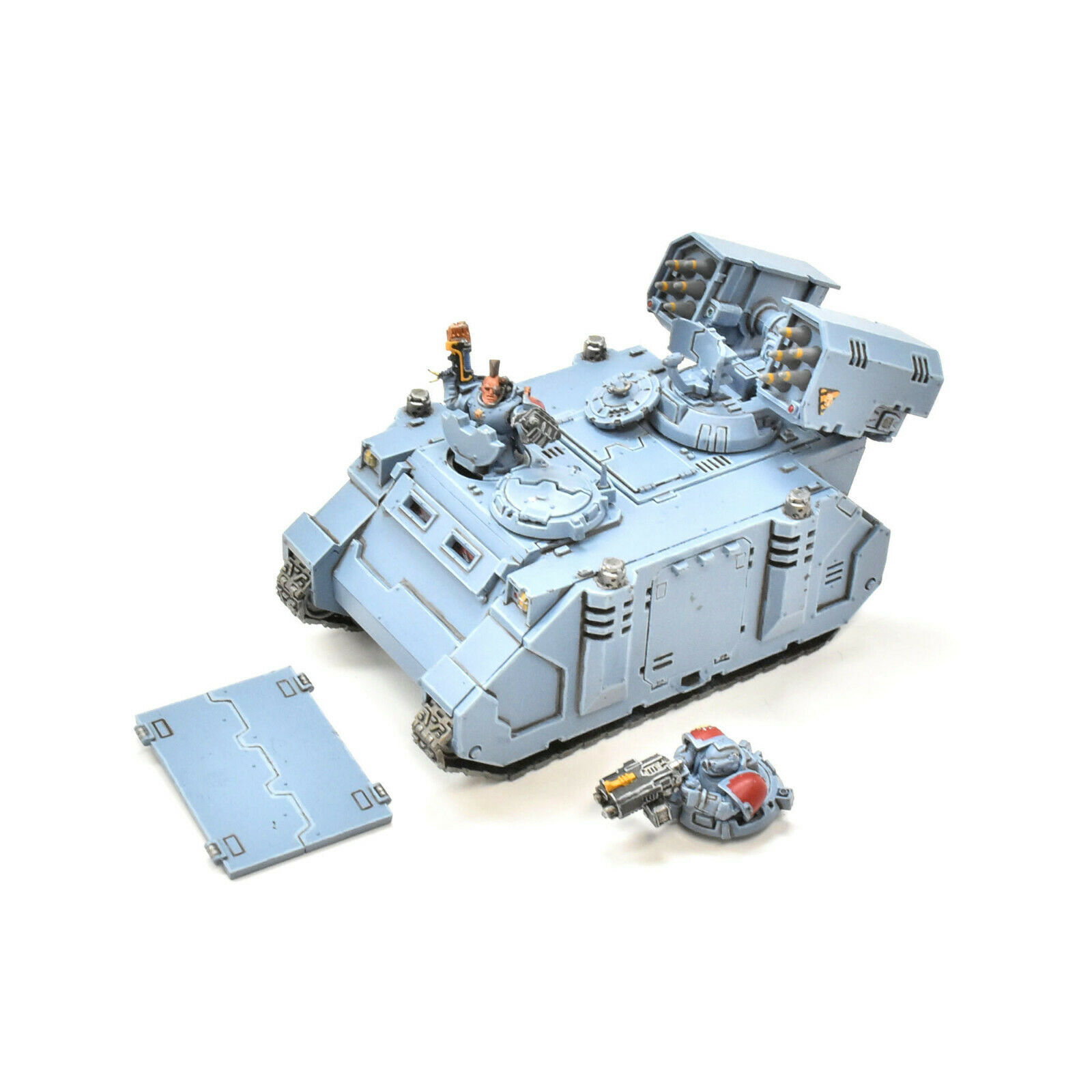 SPACE WOLVES Whirwind tank or Rhino  1 WELL PAINTED Warhammer 40K