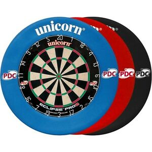 Unicorn-Eclipse-Pro-2-PDC-Competition-Quality-Bristle-Dartboard-amp-Surround