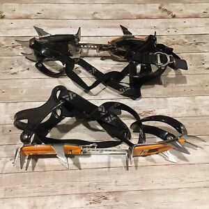 Black Diamond Adjustable Contact Crampons Lightweight Stainless Steel Snow Ice