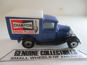 039-Vintage-034-Matchbox-Superfast-Diecast-Champion-Spark-Plugs-MODEL-034-A-034-FORD-TRUCK