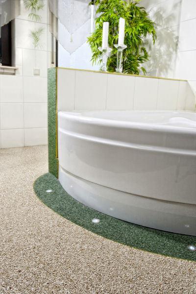 Steinteppich + 2K-Bindemittel für Bad, Küche, Wohnzimmer Flur SET= Viele Farben
