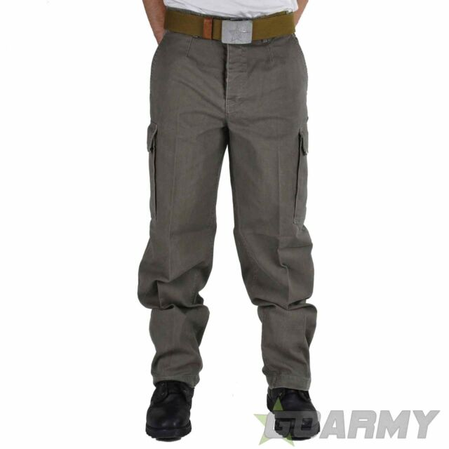 German Army Moleskin Trousers - Olive - NEW