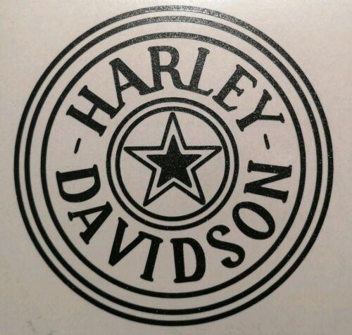 Harley Davidson  Helmaufkleber in Div.Farben 7×7 NEU !!TOP !!!