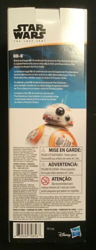 """Star Wars BB-8 Astromech Droid 1//6 Scale HASBRO pour 12/"""" action figures 2018 NEUF"""