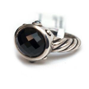 23499c2e37aec Details about New DAVID YURMAN Silver & Black Onyx, Hematine Oval  Renaissance Ring 6.25 NWT