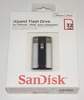 Sandisk Ixpand Flash Drive For Iphone And Ipad 32 Gb Sdix-032g-a57