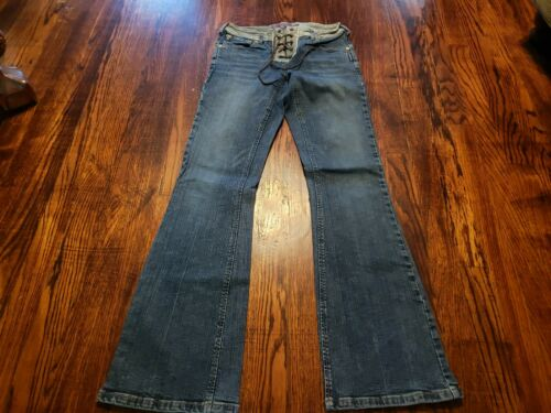 Silver Jeans Women's Vintage Bell Bottoms Leather