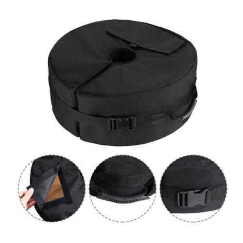 Useful Black Tent Sun Umbrella Fixed Sandbag Outdoor Canopy Windproof Fix Bag S