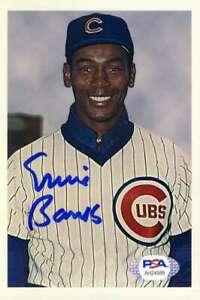 Ernie-Banks-Psa-Dna-Coa-Hand-Signed-4x6-Photo-Autograph