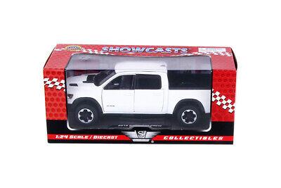 2019 dodge ram 1500 crew cab Rebel blanco//Motormax 1:43