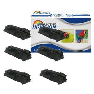 6PK CE505A 05A Toner Cartridge for HP LaserJet P2035 P2035n P2050 P2055d Printer