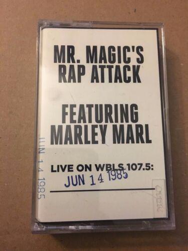 Mr Magic's Rap Attack W/ DJ Marley Marl 6-4-85 Cassette Mixtape 80s Hip Hop Tape