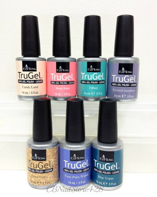 753e2dc06 Frequently bought together. EZFlow TruGel - Gel Nail Polish- Set ...