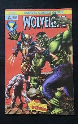 Return of Wolverine #1 Marvel Comics 2018 Miko Suayan Virgin Variant.