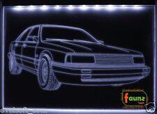 LED faunz Auto Leuchtschild, Gravur für Audi 100 Sport Tuning NEU ©faunz