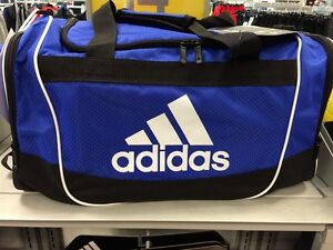 a2be01c4942ced Image is loading Brand-New-Adidas-Defender-Duffel-Small-Gym-Bag-