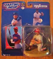 Texas Rangers Baseball Mlb Juan Gonzales Starting Lineup Action Figure Toy