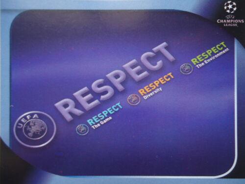 Panini 6 Logo Respect UEFA Champions League 2008//09