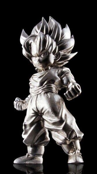 Dragonball Z Absolute Chogokin figurine métal Super Saiyan Son Goku Bandai DZ-02