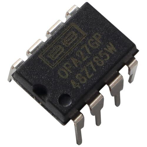 Opa27gp Burr Brown op-amplifier 8mhz 1,9v//µs single ultra-Low Noise opamp 855927