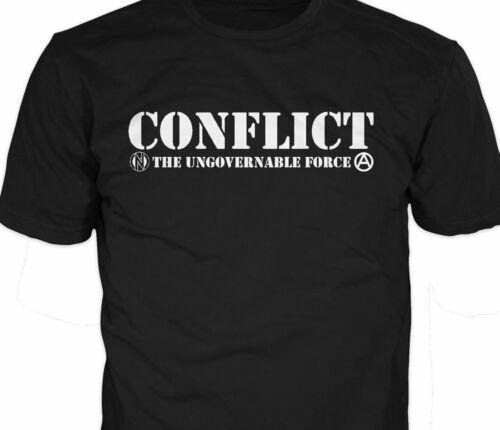 Conflit ingouvernable Force Officiel T-shirt L sous les humains, grossiers, exploités