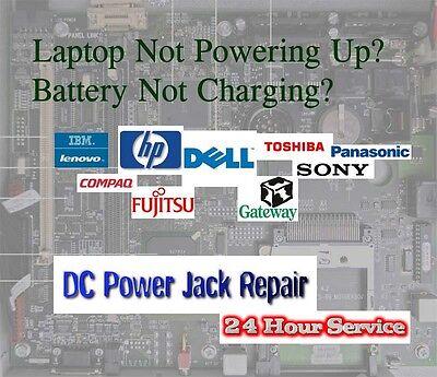 ASUS ZENBOOK Laptop DC Power Jack Repair Service UX31 UX31A UX32A UX42 X201E B05