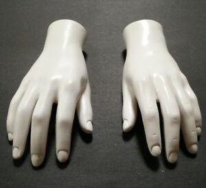Fleshtone Left Hand Male Mannequin Jewelry Display Hand