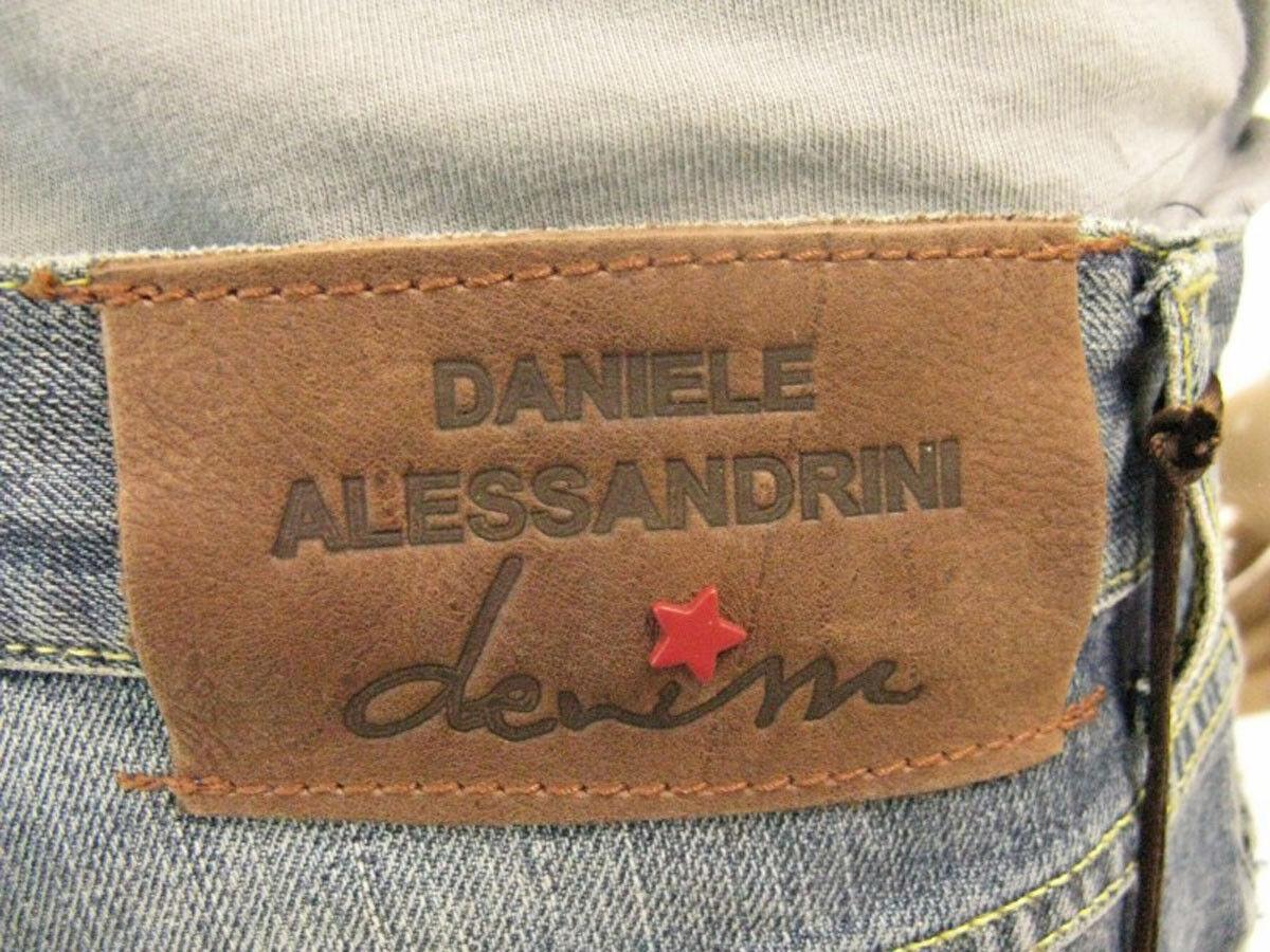 Pantaloni Daniele Alessandrini Jeans Trouser Trouser Trouser Cotone Uomo Blu P203L8203131 1111 b7bf5c