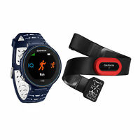 Garmin Forerunner 630 Touchscreen Gps Running Watch Midnight Blue Bundle on sale