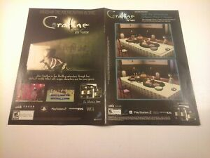 2008 Video Game Print Ad Coraline Playstation Ps2 Nintendo Ds Wii 10 X13 Ebay