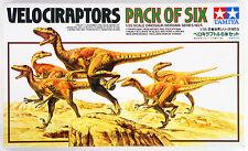 Tamiya 60105 Velociraptors Diorama Set Pack of Six 1/35 scale kit