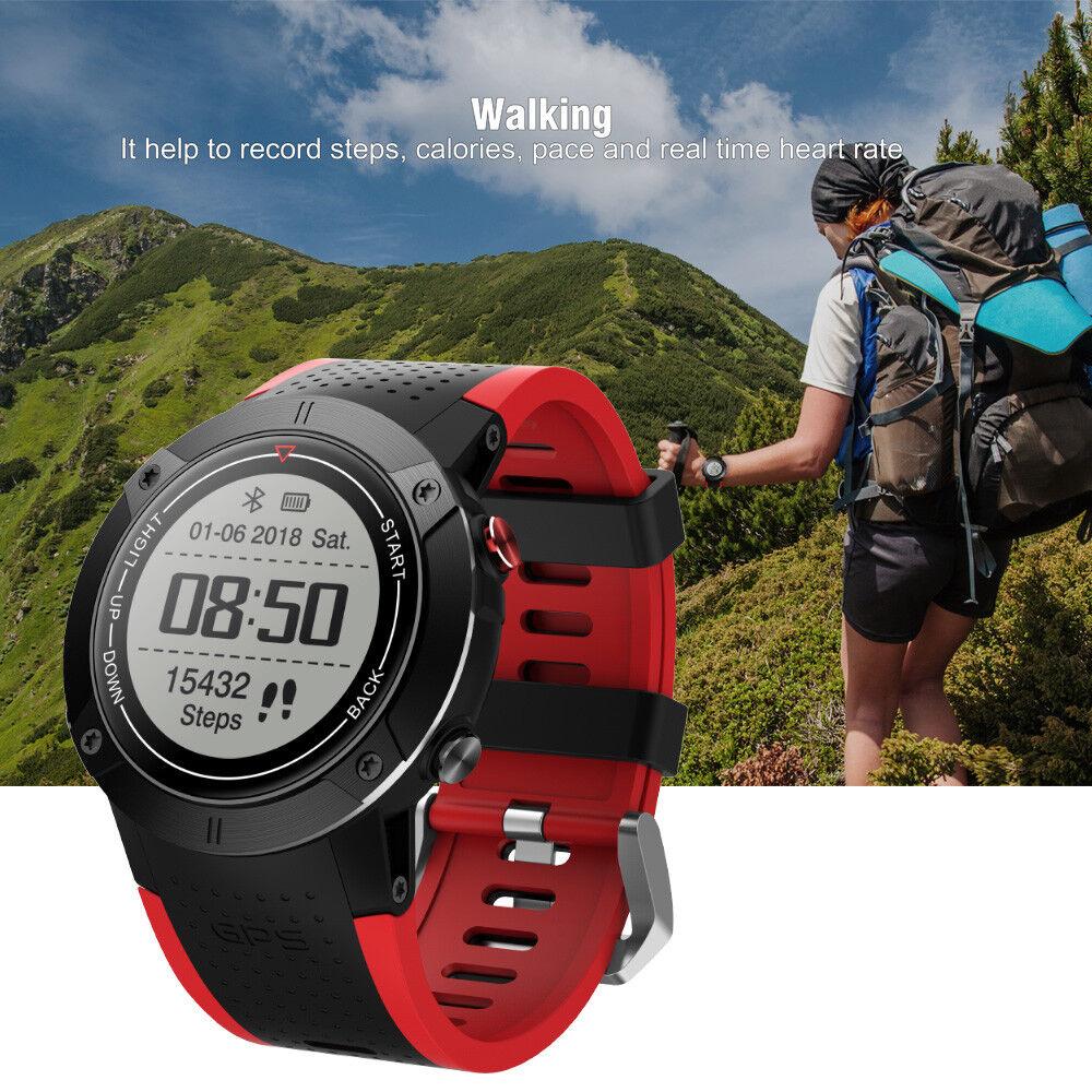 DM18 GPS Sportuhr Multisport Fitness Laufuhr Musik Pulsuhr Smartwatch Sports